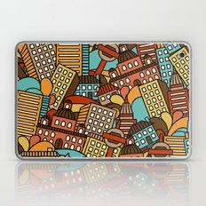 Town pattern Laptop & iPad Skin