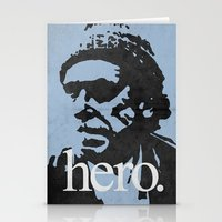 Charles Bukowski - hero. Stationery Cards