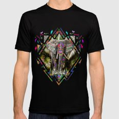 TEMBO Mens Fitted Tee Black SMALL