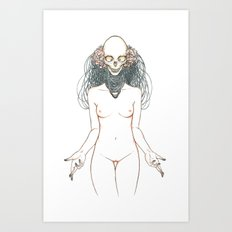 The Final Embrace Art Print