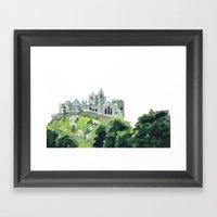 Cashel Rock Framed Art Print