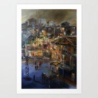 Kentsel Dönüşüm ve Yok oluşum  Art Print