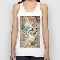 Because poop can be pretty too. Don't be mean to poop. Unisex Tank Top