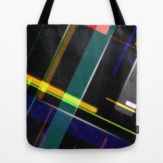 Line Pattern Tote Bag