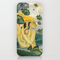 mermaid iPhone & iPod Cases featuring MERMAID by Julia Lillard Art