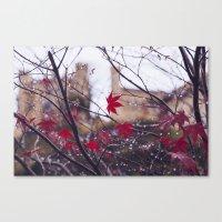 Blood Red Autumn Canvas Print