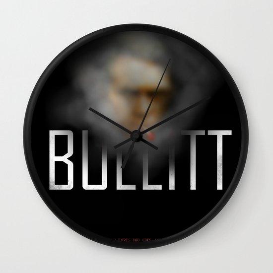 Bullitt Wall Clock
