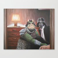 Cute Little Piggy Canvas Print