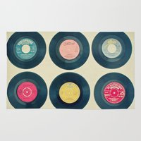 Vinyl Collection Rug