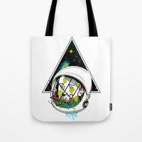 Space Gummies Tote Bag