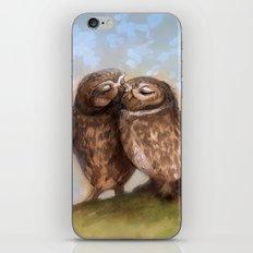 Owls in Love iPhone & iPod Skin