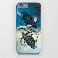 iPhone Cases featuring Raven's Key Night+Day by Rachel Caldwell