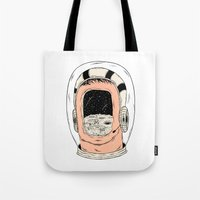 From the Earth to the Moon Tote Bag