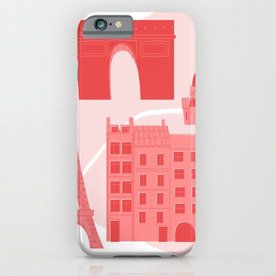 Paris Map iPhone & iPod Case