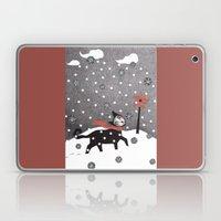 Snow Cat Laptop & iPad Skin