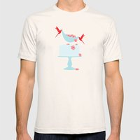 newly minted Mens Fitted Tee Natural SMALL