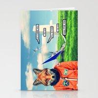 Starfox - F*CK YOU PEPPY! Stationery Cards