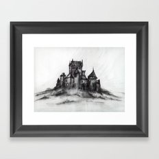 1989 - Spooky Castle Framed Art Print