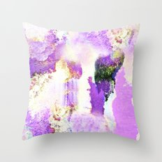 Lavender Emotions Throw Pillow