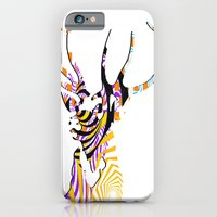 iPhone & iPod Case featuring Mr Stag by Ashley James