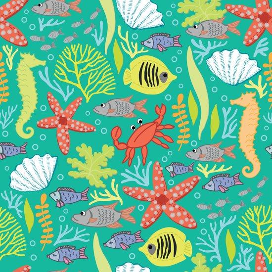Maritime pattern Art Print