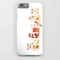 iPhone & iPod Case featuring Maneki Neko by Priscilla Moore