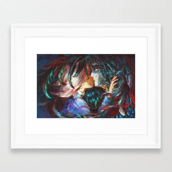 All This Time Framed Art Print