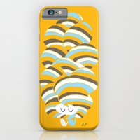 iPhone Cases featuring Hair Ball by inkdesigner