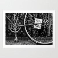 Wheeled Warrior Art Print