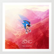 The Hedgehog Art Print