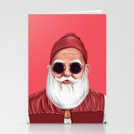 Hipstory -  Santa Claus Stationery Cards