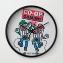 Co-op Gaming Wall Clock