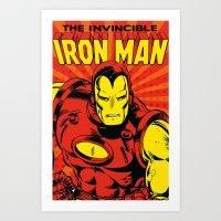 IronMan 2 Art Print