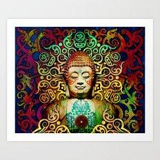 Heart Of Transcendence -… Art Print