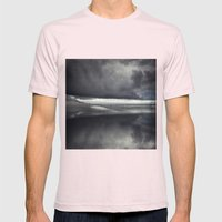 BeinG theRe Mens Fitted Tee Light Pink SMALL