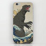 The Great Godzilla Off K… iPhone & iPod Skin