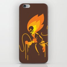 The Ghost Who Rides iPhone & iPod Skin