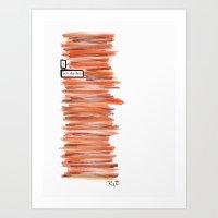 Fires Art Print