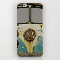 VW Rusty iPhone & iPod Skin