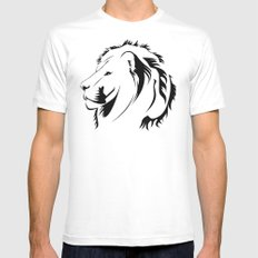 Lionhead Tribiales SMALL Mens Fitted Tee White
