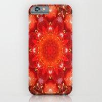 Strawberry Days Mandala iPhone 6 Slim Case