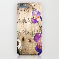 iPhone & iPod Case featuring Grow trough Life by YM_Art by Yv✿n / aka Yanieck Mariani