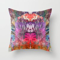 Forcing the Light Throw Pillow