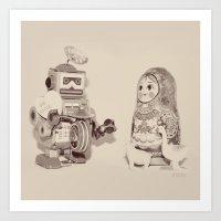 Be Mine - Valentine Art Print