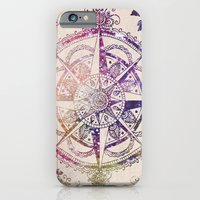 glitter iPhone & iPod Cases featuring Voyager II by Jenndalyn