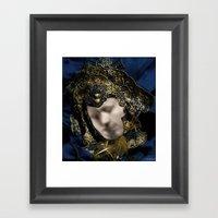MASK OF LOVE (read The D… Framed Art Print