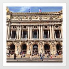 Palais Garnier 2 Art Print