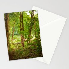 Surreal woodland Stationery Cards