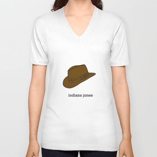 Indiana Jones V-neck T-shirt