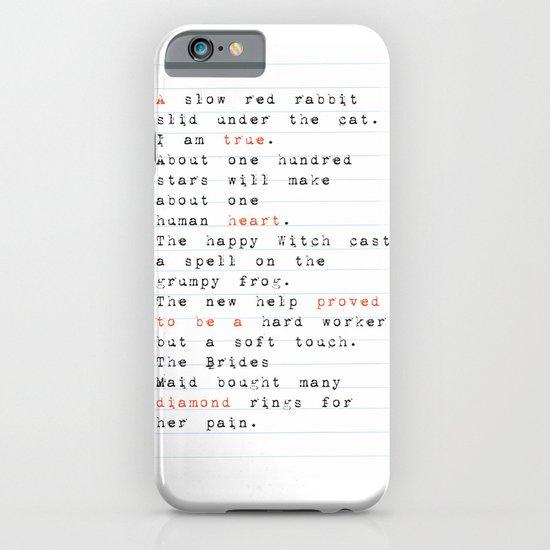 a true heart iPhone & iPod Case